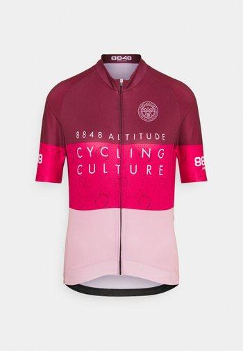 EVY BIKE  - Maillot de cycliste - burgundy