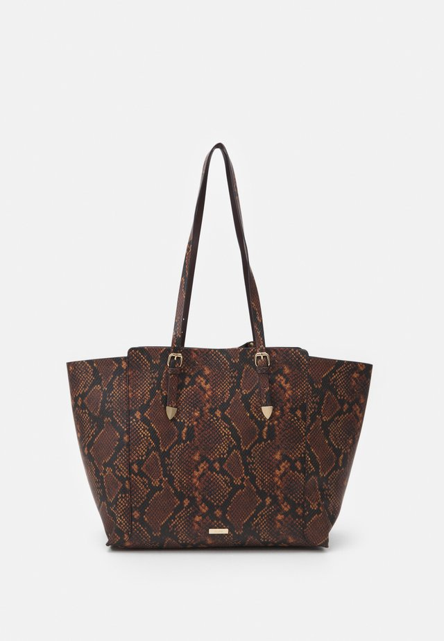 SMOOTH - Tote bag - brown
