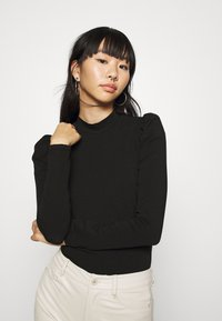 ONLY - LIVE LOVE HIGH PUFF - Long sleeved top - black - 3
