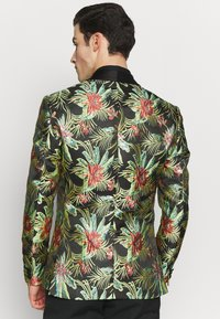 Isaac Dewhirst - FLORAL - Giacca - black - 2