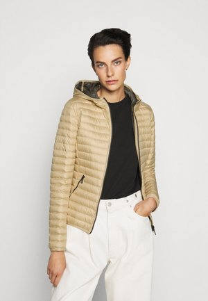 LADIES JACKET - Down jacket - sandy/spike