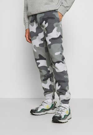 Tracksuit bottoms - green camo