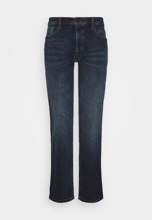 REGULAR - Straight leg jeans - blue od black