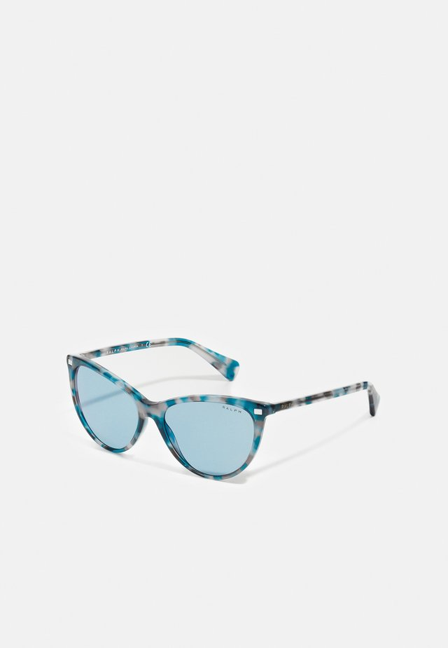 Sonnenbrille - spotted havana blue