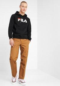 Fila - PURE HOODY - Felpa con cappuccio - black - 1