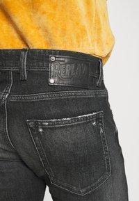 Replay - GROVER - Straight leg jeans - dark grey - 3