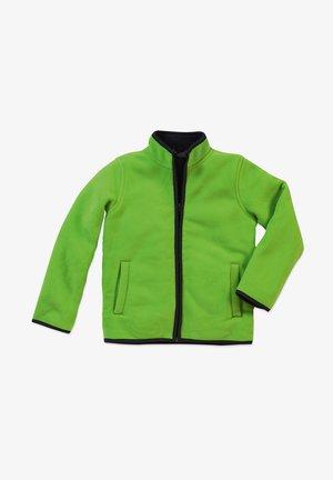 Fleece jacket - kiwi green