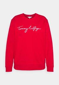 Tommy Hilfiger Curve - GRAPHIC - Sweatshirt - red - 4