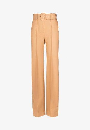 OSTEN - Trousers - cammello