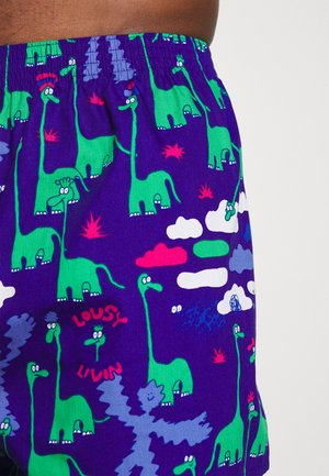 DINOS 2 PACK - Boxer shorts - pink/violett