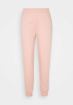 SHIRRED WAIST - Tracksuit bottoms - pink