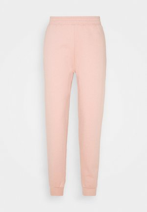 SHIRRED WAIST - Tracksuit bottoms - pink