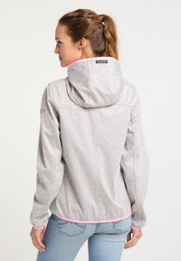 Schmuddelwedda - Light jacket - hellgrau mel pink - 2