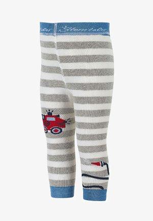 LEGGINS WINTER DRACHE+FEUERWEHR - Leggings - Stockings - ecru