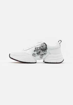 CAGED RUNNER TIGER - Sneakers basse - white/black