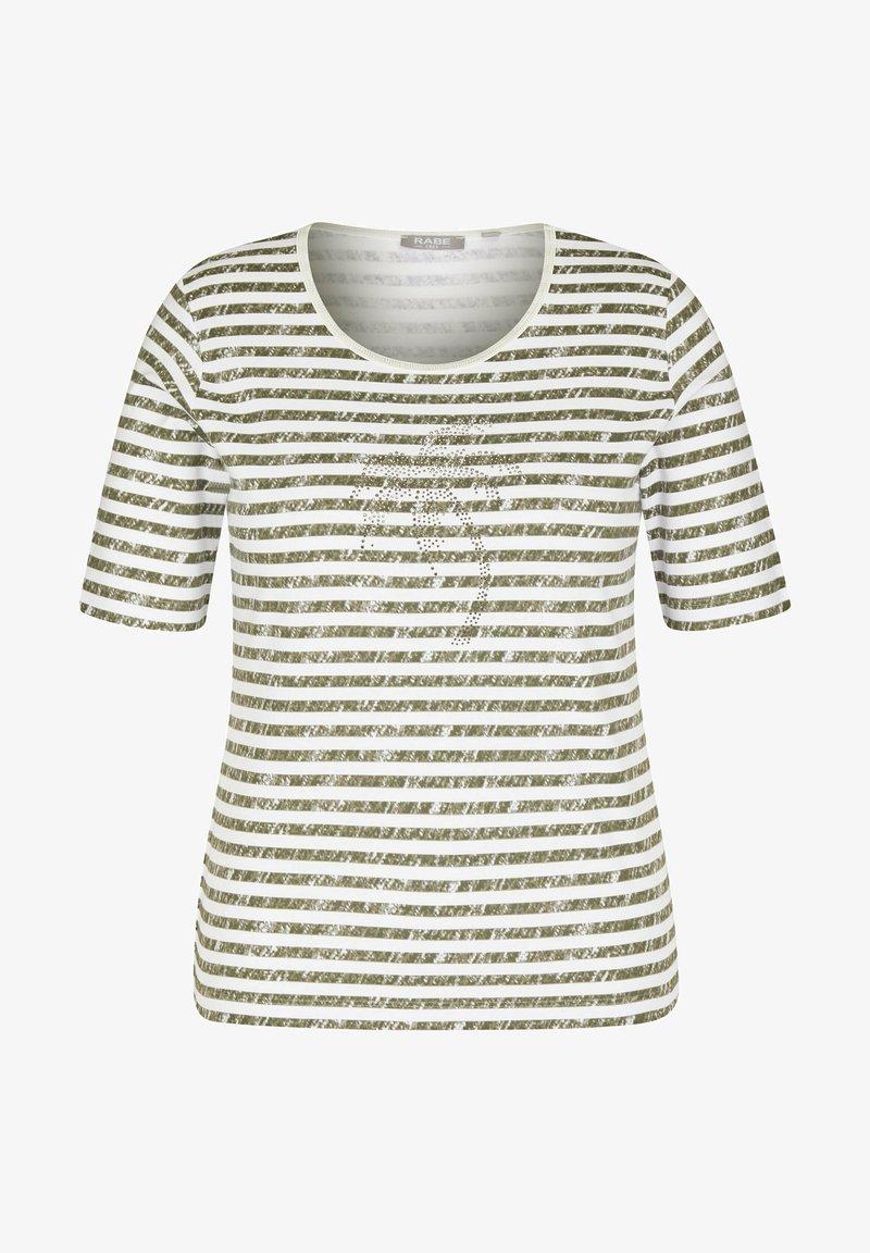 Rabe 1920 - Print T-shirt - green/ off-white
