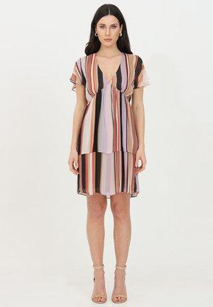 Vestito estivo - lilac stripes