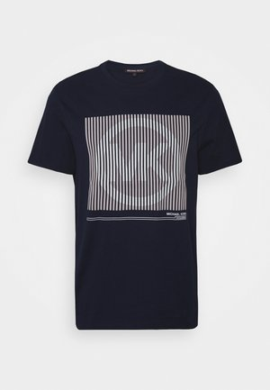 TONAL TEE - Print T-shirt - dark midnight
