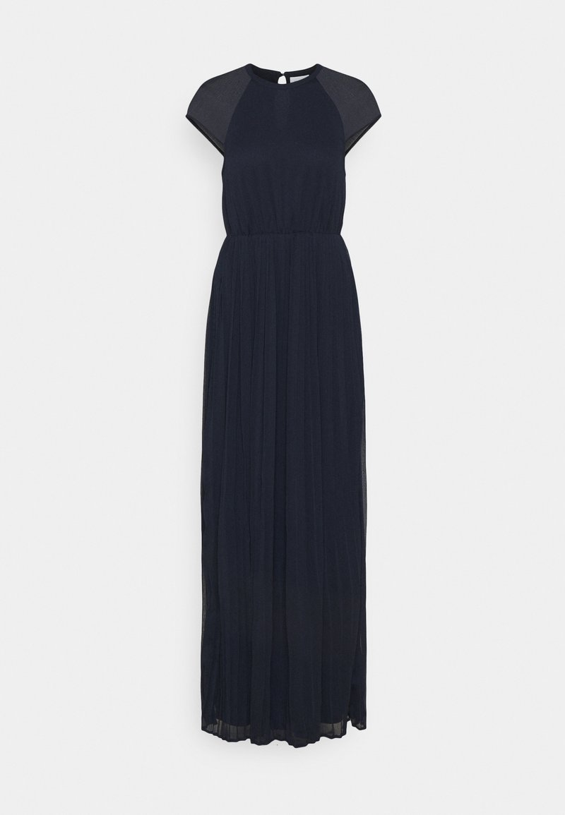 VILA TALL - VIKALINA PLISSE MAXI DRESS - Occasion wear - navy blazer