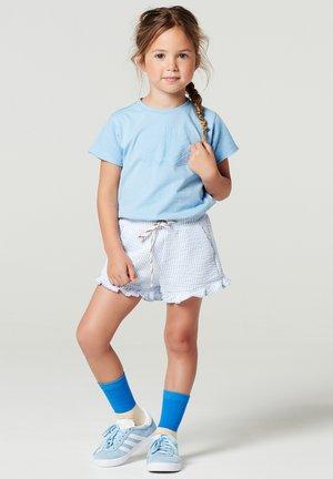 LUNSFIELDTOP - Print T-shirt - placid blue