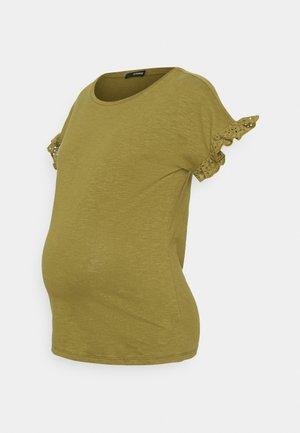 TEE - Jednoduché triko - olive