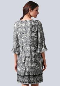 Alba Moda - Day dress - schwarz off white - 2