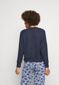 Marks & Spencer London - Pyjama top - navy - 2