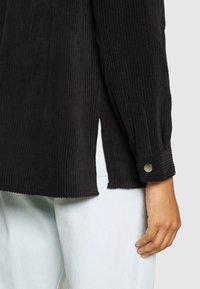 Gina Tricot - CORY - Button-down blouse - black - 3