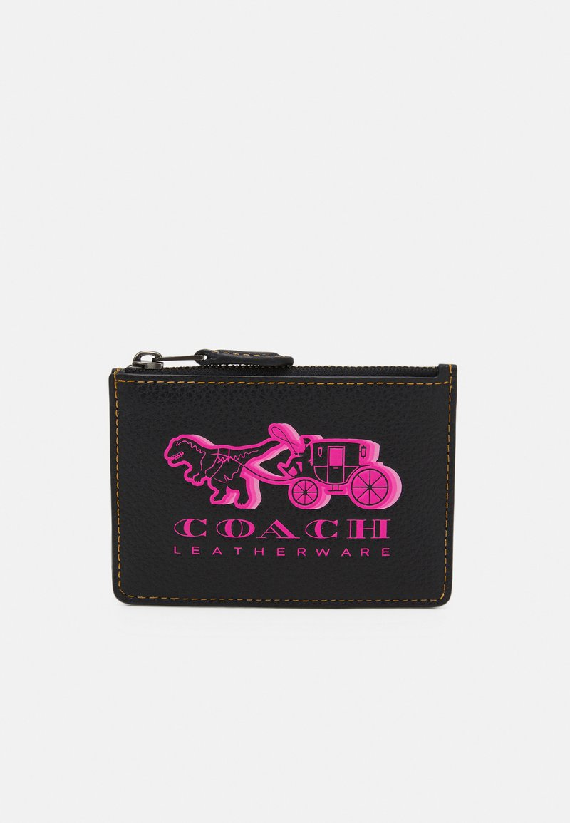 Coach - EXCL REXY AND CARRIAGE MINI ID - Wallet - black