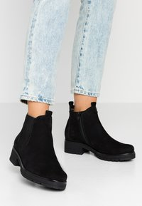 Gabor - WIDE FIT - Ankle boots - schwarz - 0