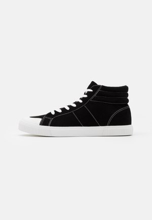 LACCA - High-top trainers - black/white