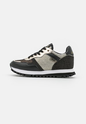 Sneakers laag - black/gold