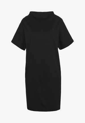 JOOSA FUNNEL - Žerzejové šaty - black