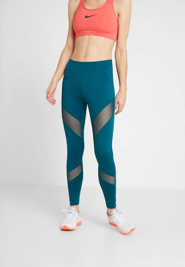Legginsy - turquoise