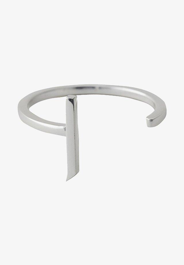 RING J - Bague - silver
