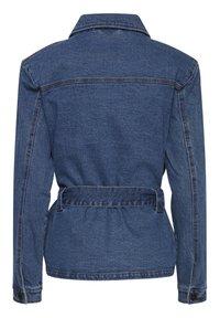 ICHI - IHNICOLE  - Denim jacket - medium blue - 5