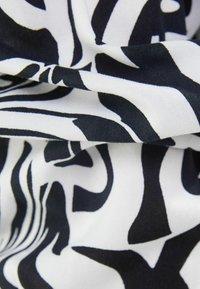 Bershka - Button-down blouse - dark grey - 5