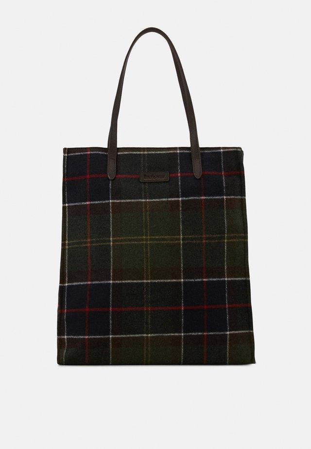 TAIN TARTAN SHOPPER - Shopping Bag - classic