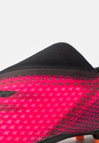 adidas Performance - X GHOSTED.3 LL FG - Moulded stud football boots - shock pink/core black/screaming orange - 5