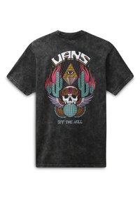 Vans - MN BEYOND THE VALLEY ZL S/S - Print T-shirt - black - 1