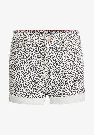 DIERENDESSIN - Denim shorts - all-over print