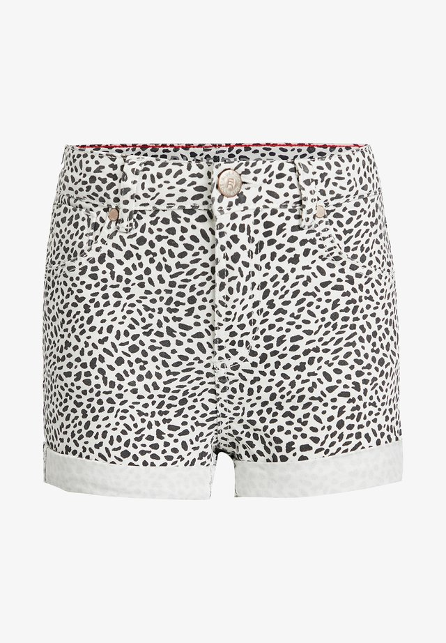 DIERENDESSIN - Shorts di jeans - all-over print