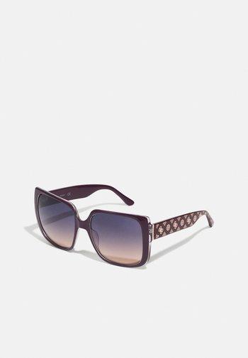 Solglasögon - shiny violet / gradient or mirror violet