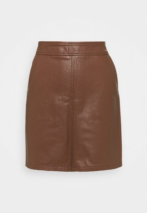 POCKET SKIRT - A-line skirt - tan
