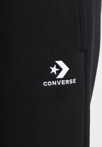 Converse - STAR CHEVRON  - Pantalones deportivos - black - 6