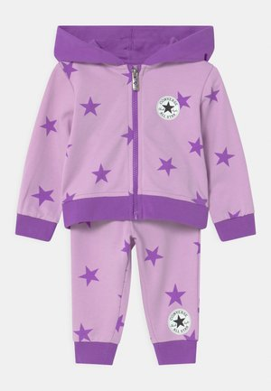 COLOR POP HOODED SET - Tracksuit - lilac mist