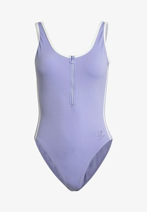 ADICOLOR CLASSICS PRIMEBLUE SWIMSUIT - Uimapuku - purple