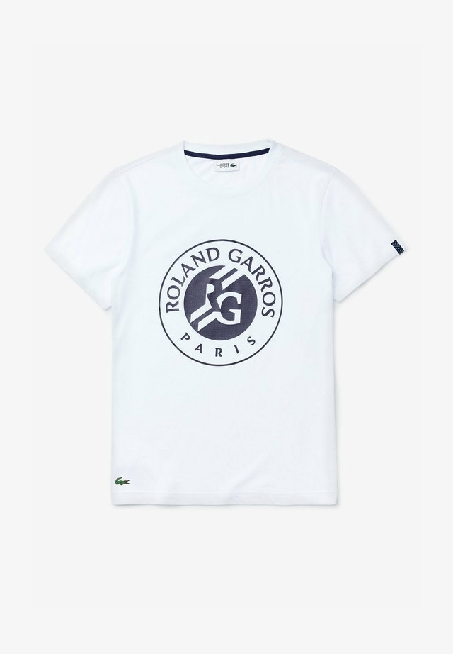 T-shirt imprimé - weiß  navy blau  navy blau