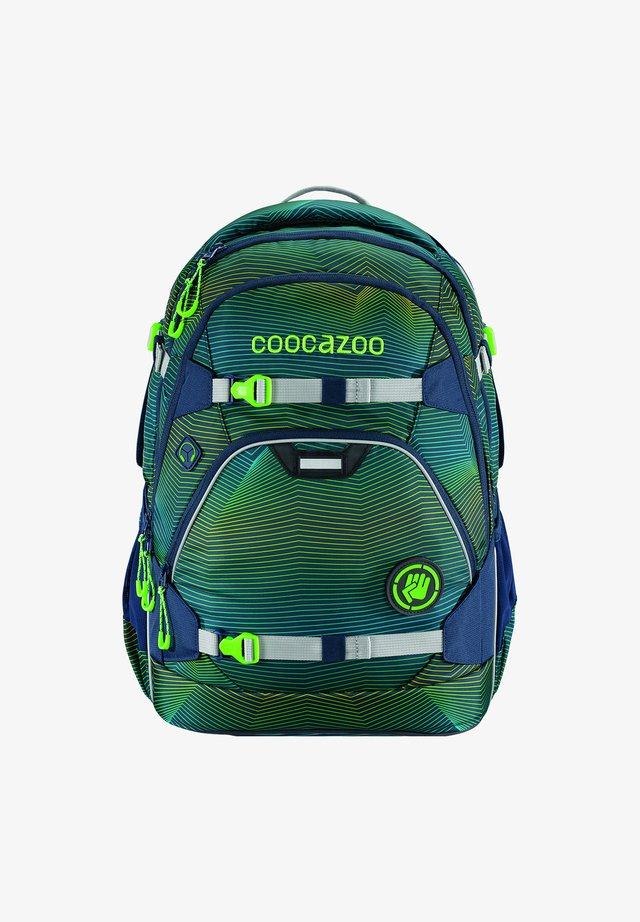 SCALERALE - School bag - soniclights green