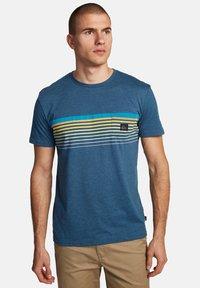 Quiksilver - Print T-shirt - majolica blue heather - 3